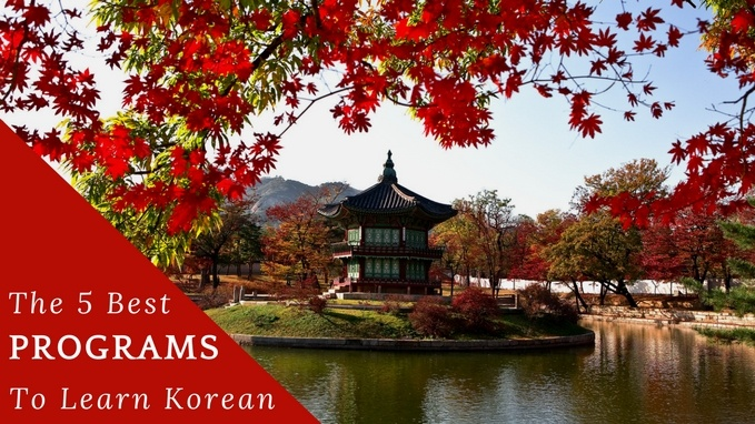 Best Programs to Learn Korean (The Top 5) - Live Fluent
